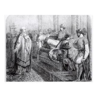 Carte Postale L'évêque de Salisbury avant Saladin