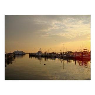 Carte Postale Lever de soleil au New Jersey atlantique de