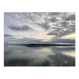 Carte Postale Lever de soleil d'Alaska