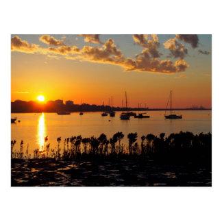 Carte Postale Lever de soleil de baie