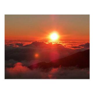 Carte Postale Lever de soleil de Haleakala