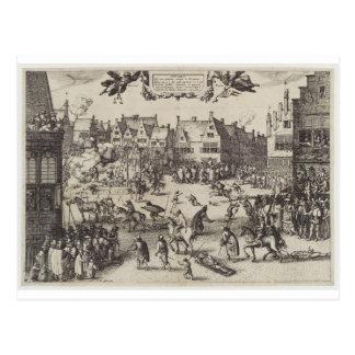 Carte Postale L'exécution de Guy Fawkes