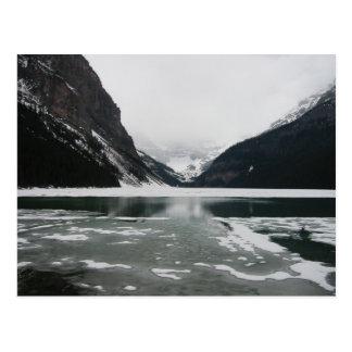 Carte Postale L'extrémité de l'hiver, Lake Louise