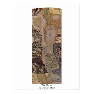 Carte Postale L'hydre par Gustav Klimt