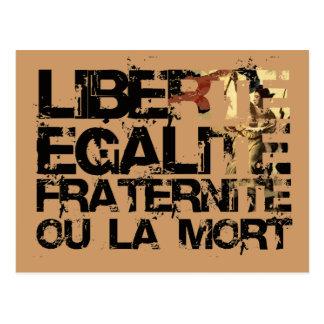 Carte Postale LIberte Egalite Fraternite !  Révolution française