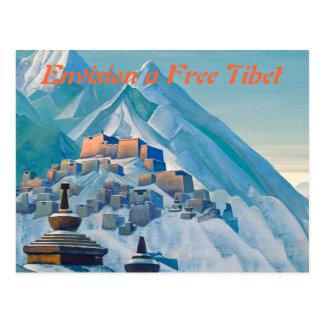 Carte postale libre du Thibet