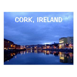 Carte Postale Liège la nuit, Irlande
