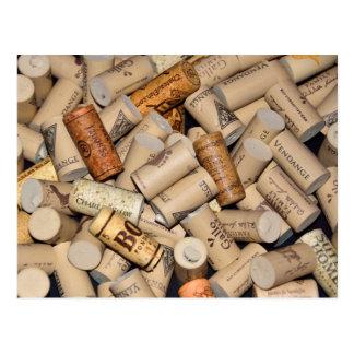 Carte Postale Lièges de vin