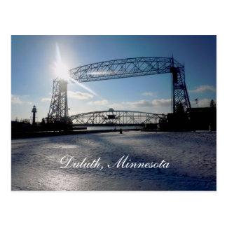 Carte Postale Liftbridge, Duluth, Minnesota