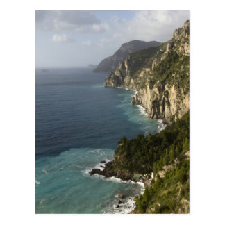 Carte Postale Ligne de côte d'Amalfi