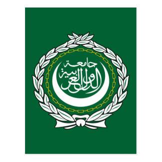 Carte Postale Ligue arabe