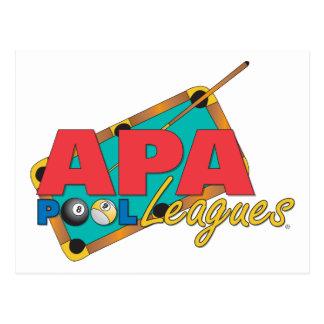 Carte Postale Ligues de piscine d'APA