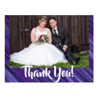 Carte Postale Lilas indifférent de violette de pourpre royal du