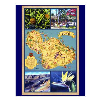Carte Postale L'île de Maui Hawaï