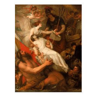 Carte Postale L'immortalité du Nelson par Benjamin occidental