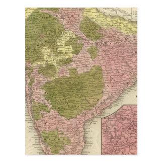 Carte Postale L'Inde et le Sri Lanka
