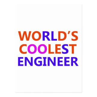 Carte Postale l'ingénieur le plus frais