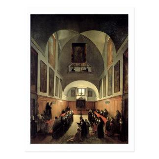 Carte Postale L'initiation d'un jeune novice d'Albano en Th