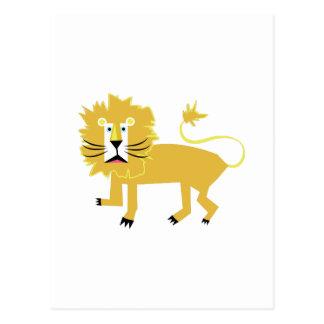 Carte Postale Lion