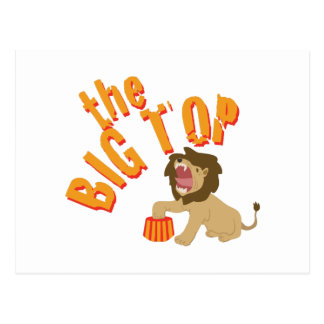 Carte Postale Lion de chapiteau