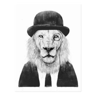Carte Postale Lion de monsieur