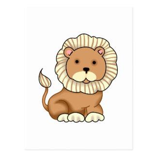CARTE POSTALE LION DE NOAHS