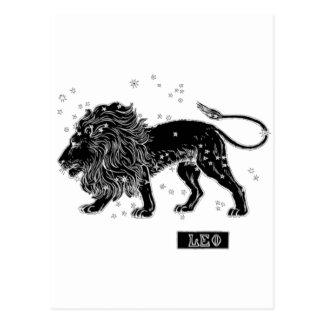 Carte Postale Lion vintage