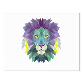 Carte Postale lion w.jpg