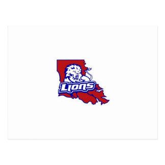 Carte Postale Lions de la Louisiane
