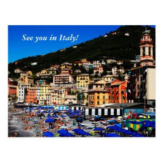 Carte Postale L'Italie colorée
