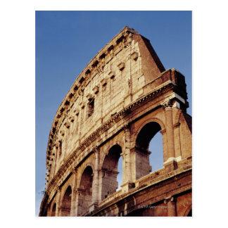 Carte Postale L'Italie, Latium, Rome, le Colosseum au coucher du