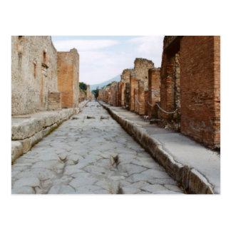 Carte Postale L'Italie, Pompeii, site archéologique