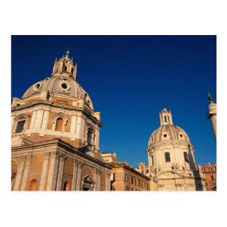 Carte Postale L'Italie, Rome, église Santa Maria di Loreto et