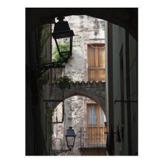 Carte Postale L'Italie, Sardaigne, Bosa. Détail de rue