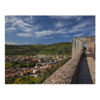 Carte Postale L'Italie, Sardaigne, Bosa. Vue de ville de