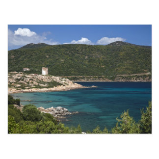 Carte Postale L'Italie, Sardaigne, Teulada. Tour espagnole