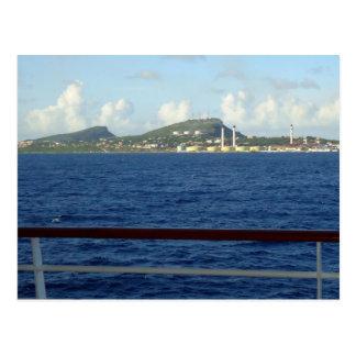 Carte Postale Littoral du Curaçao