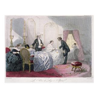 Carte Postale Loge de Le Salon de un l'Opera