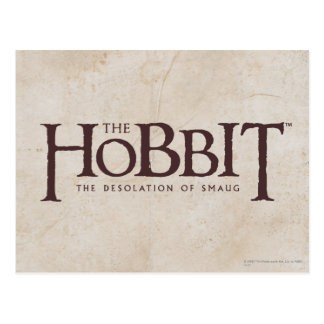 Carte Postale Logo de Hobbit - obscurité