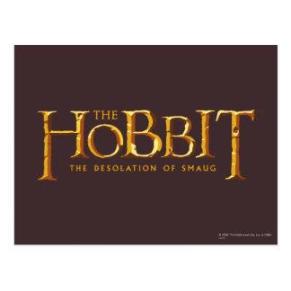 Carte Postale Logo de Hobbit - or