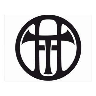Carte Postale Logo de TH