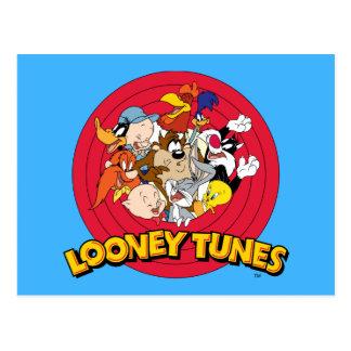 Carte Postale Logo LOONEY de caractère de TUNES™