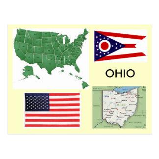 Carte Postale L'Ohio, Etats-Unis