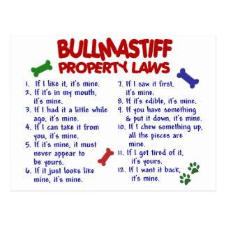 Carte Postale Lois 2 de propriété de BULLMASTIFF