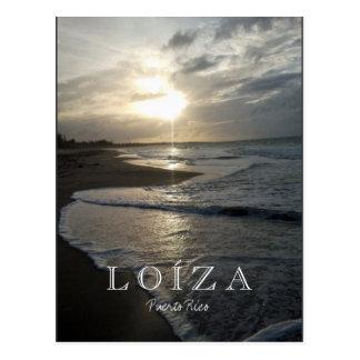 Carte Postale Loiza, coucher du soleil de Porto Rico