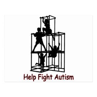 Carte Postale l'ombre de l'autisme