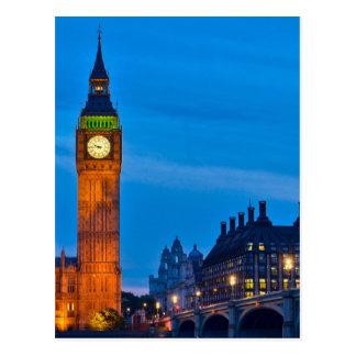 Carte Postale Londres - le Royaume-Uni