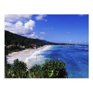 Carte Postale Longue baie, port Antonio, Jamaïque