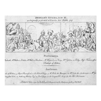 Carte Postale L'Opera du mendiant