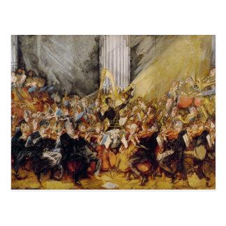 Carte Postale L'orchestre